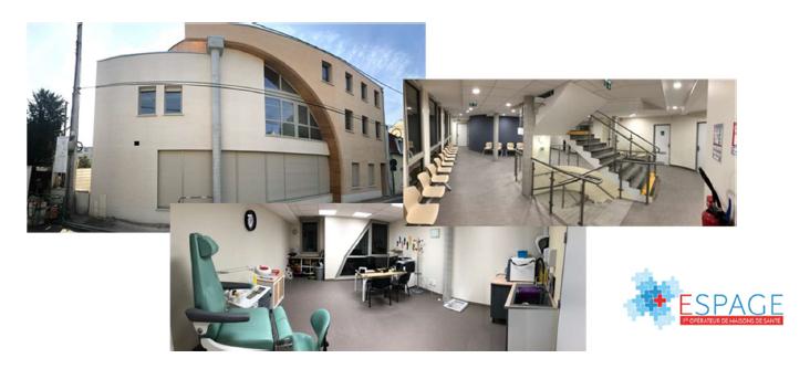 ESPAGE inaugure sa 2ème Maison de Santé nouvelle génération aux Mureaux (78)